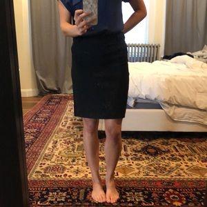 Dresses & Skirts - Straight black skirt - 6